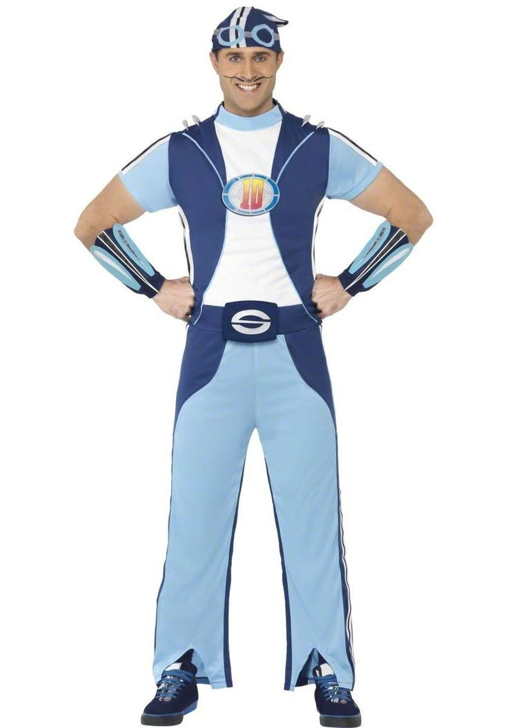 Lazy Town Sportacus Adult Costume - Hollywood