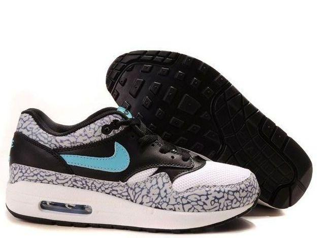 aaba59401430 ... Fake Mens Nike Air Max 1 Premium Atmos Elephant Safari Shoes  42.98 ...