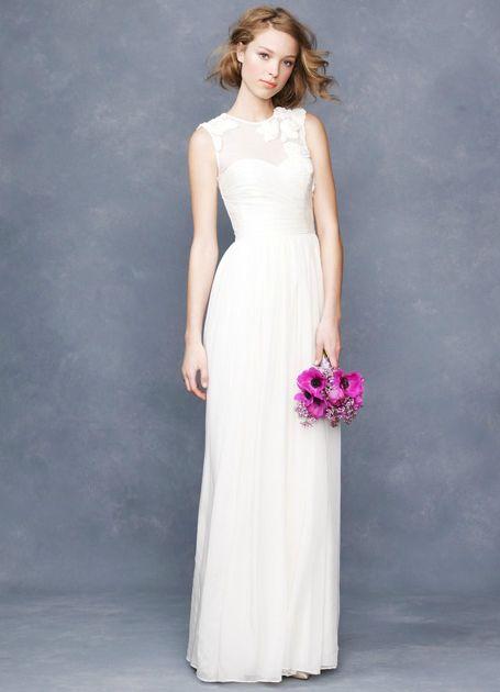 j. crew wedding dress