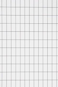 Ferm Living Sort/hvid Tapet Grid