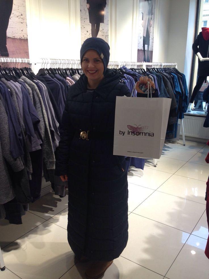 Nasz sklep na Nowym Świecie w Warszawie odwiedziła również Magdalena Stużyńska;) Dziękujemy za zakupy i zapraszamy;)