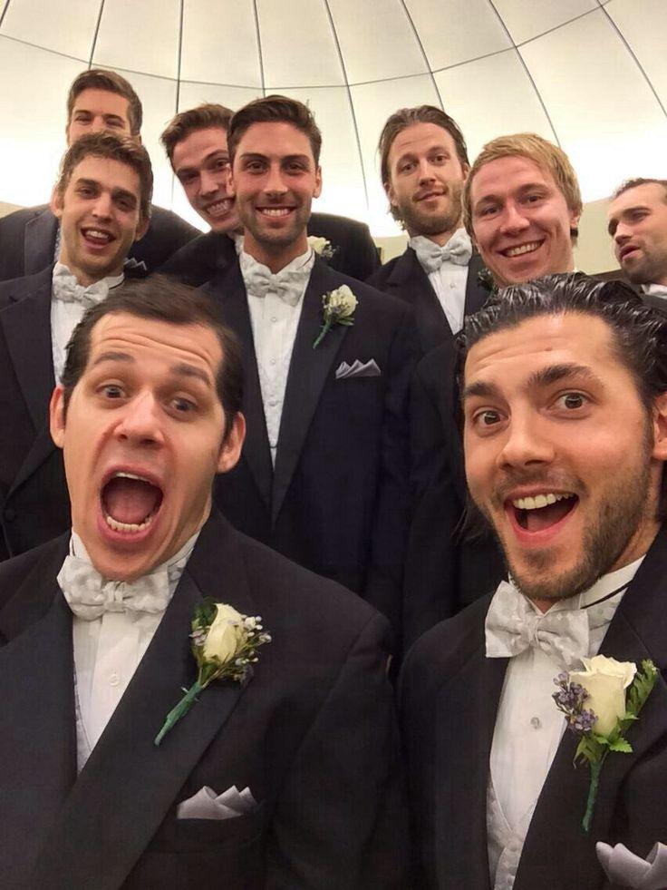 Pittsburgh Penguins selfie