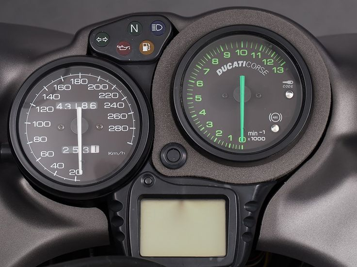 Ducati ST4, Four Valve Touring Motorcycle, Model Year 2004