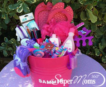 19 best easter baskets for kids tweens teens images on pinterest mani pedi party easter basket negle Image collections