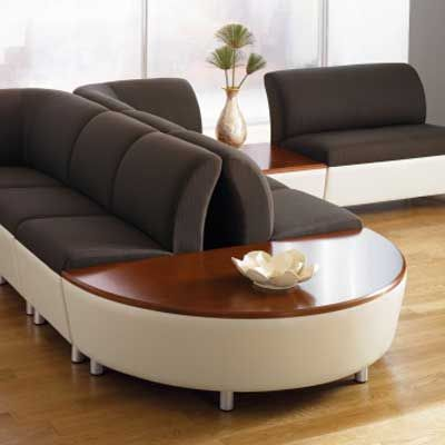 Office Chairs - modern contemporary lounge leather sofa