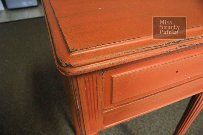 Maybe orange for my new nightstand?