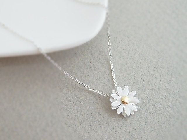 Cute Daisy Necklace | Simple and Beautiful Jewelry