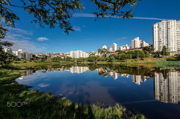 A Barragem Santa Lúcia fica no bairro Luxemburgo, em Belo Horizonte, capital do estado de Minas Gerais, Brasil, e foi construída para controlar a vazão e o excesso de água da chuva na cidade..