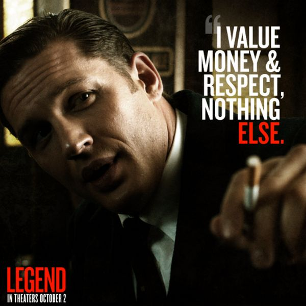 Rocky Wallpaper With Quotes Tommy As Ronald Kray Reginald Kray Legend 2015