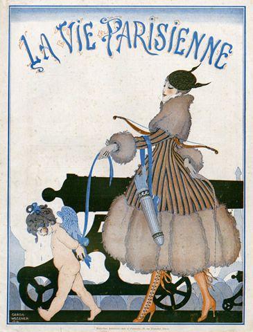 Gerda Wegener (1886 – 1940). La Vie Parisienne, 12 Février 1916. [Pinned 29-v-2015]