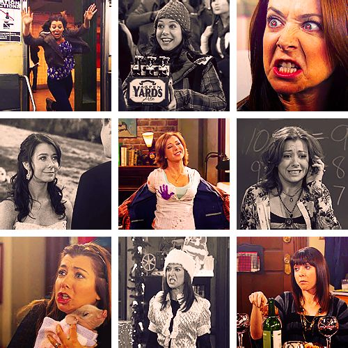 "I <3 Lily Aldrin: Hell, yeah! I'm gonna take that flower grenade and chuck it to the crowd and scream, ""crawl for it, bitches!"". It's just what girls do."