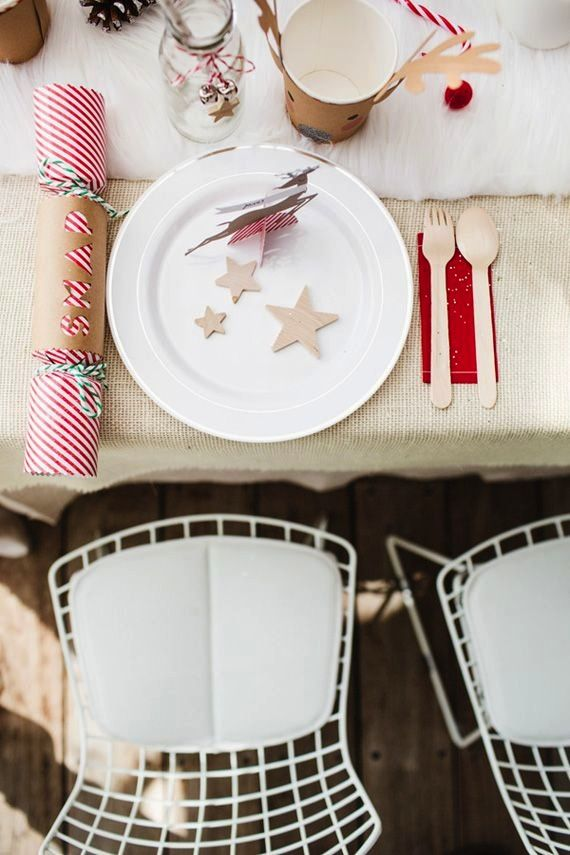 Una mesa de Navidad para niños-Decoración Infantil-http://petit-on.com