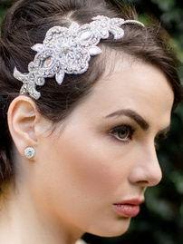 Свадебная повязка для волос