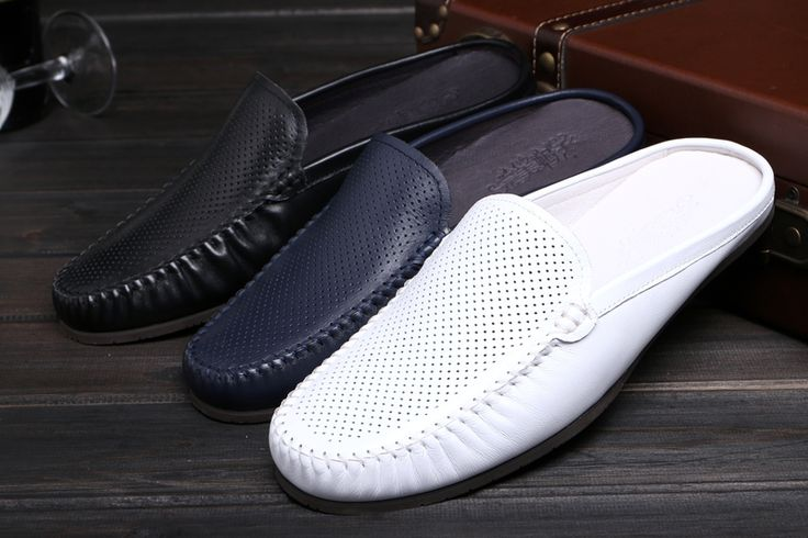 105.00$  Buy here - http://alirmw.shopchina.info/1/go.php?t=32816752956 - White Black Blue Driving Shoes Flats Slip on Loafers for men Breathable Summer Spring New 2017 Mens Boats Loafers Cozy Shoes  #buychinaproducts