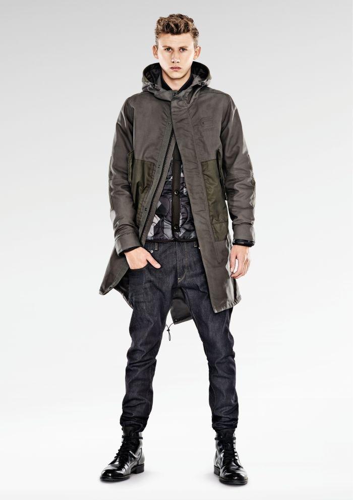 G-Star RAW Fall 2014 Men's Looks - Denimology