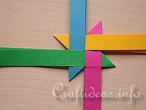 Free Craft Instructions - How to Make a German Paper Star (Froebel Star) Page 2