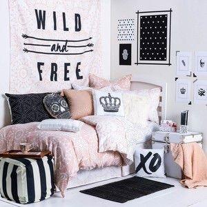 Cute bedroom decoration