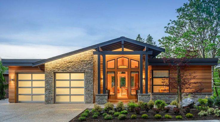 Elegant West Coast Contemporary Home Design - Victoria, British Columbia, Canada