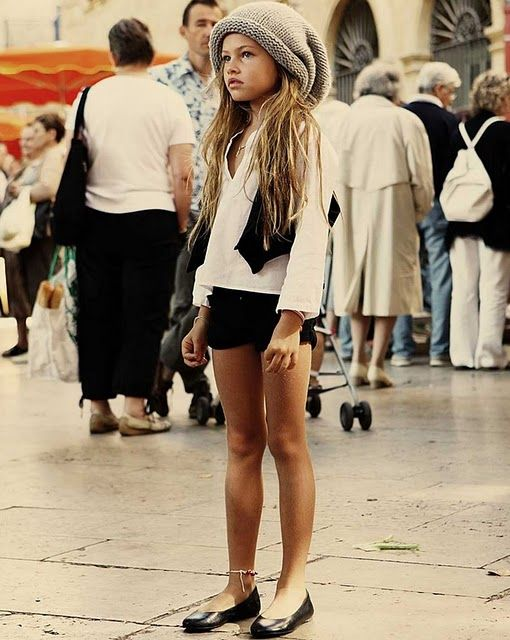 : Training Stations, Little Girls, Awkward Moments, Style, Kids Fashion, Outfit, 10 Years, French Models, Thylane Blondeau