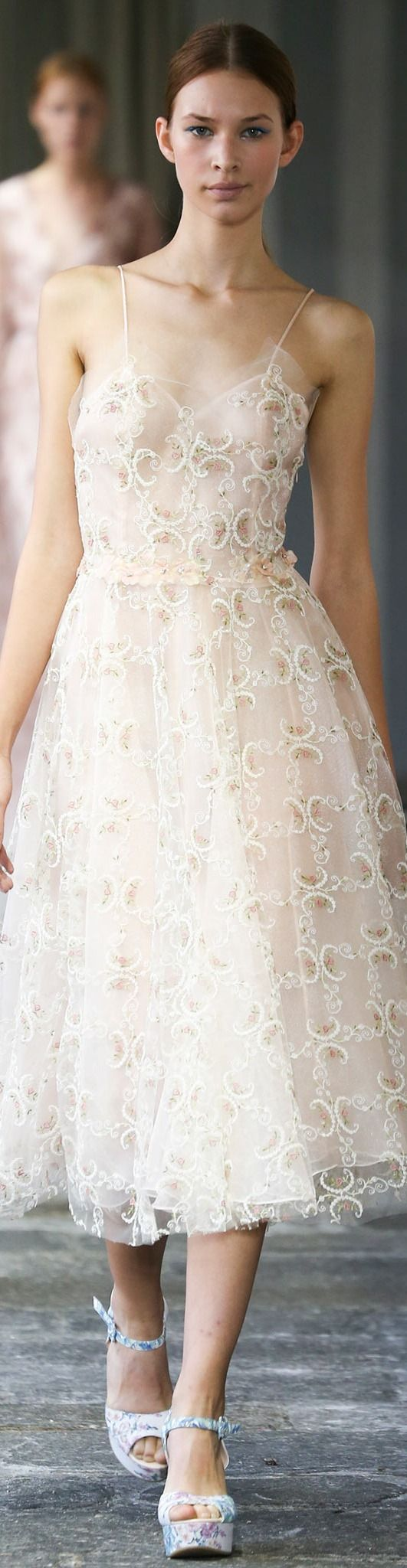 Trend: Lacy, Beadwork, Feminine Luisa Beccaria Collection Spring 2015
