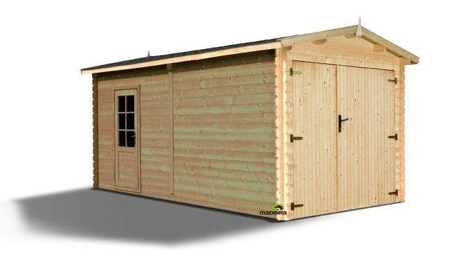 17 best images about garages bois et m tal on pinterest garage metals and - Prix au m2 construction garage ...
