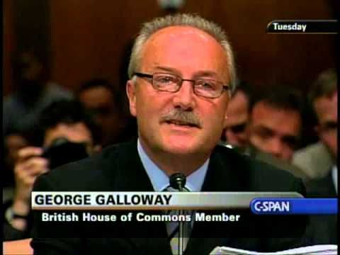 George Galloway Senate Testimony (FULL)