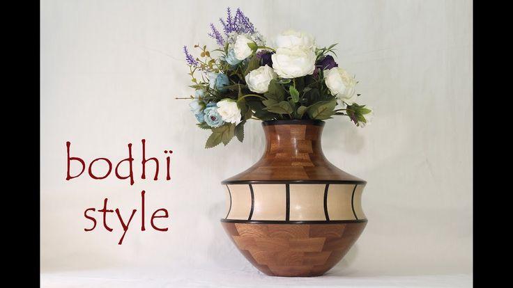 Токарные изделия из дерева. Bodhi Style. Home & Living. Wooden crafts. - YouTube