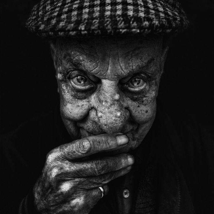 by Lee Jeffries.... I love me some black and white head-shots! Especially ones with powerful eyes!