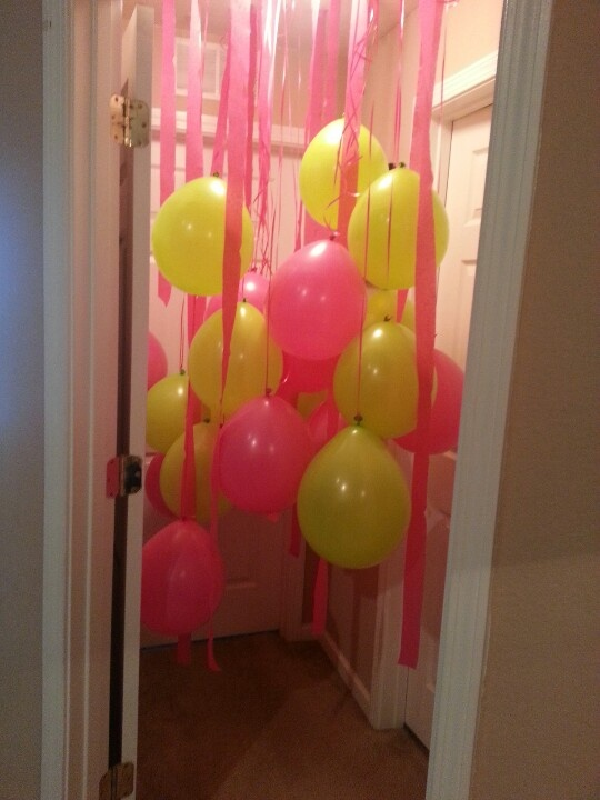 17 Best Ideas About Birthday Morning Surprise On Pinterest