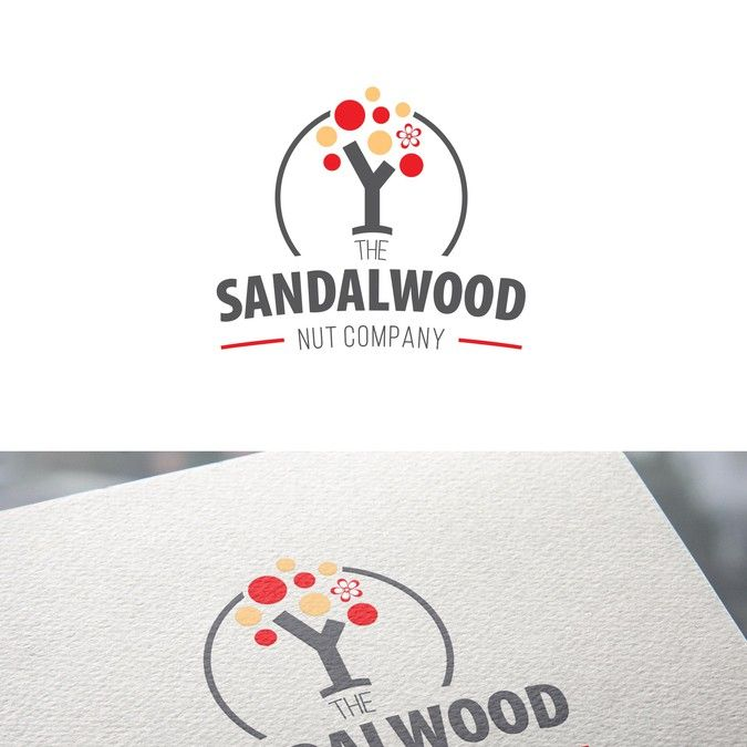 LOGO is provided, Please enhance this logo for The Sandalwood Nut Company by Felix Daniel