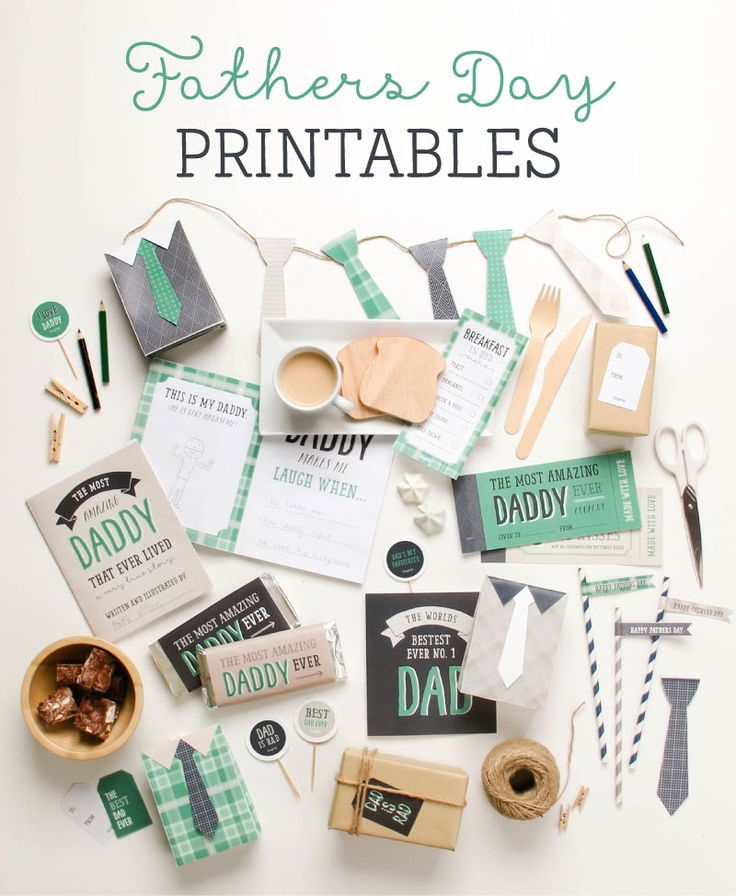 Free Father's Day Printables | Tinyme
