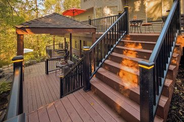 Traditional Home Multi Level Deck Design, Pictures, Remodel, Decor and Ideas - page 9