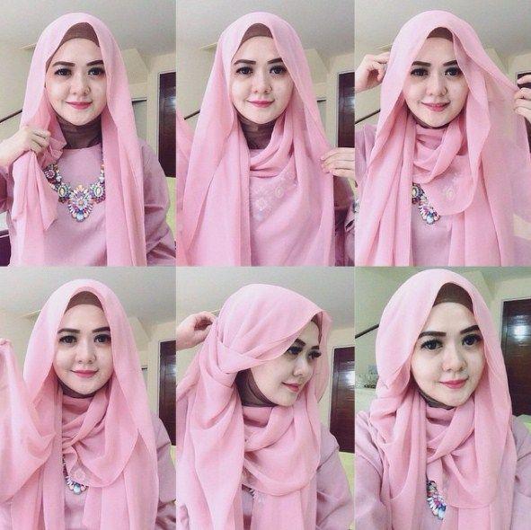 Tutorial Hijab Pesta Kondangan Inspirasi Fashion Hijab Tutorial Hijab Mudah Hijab