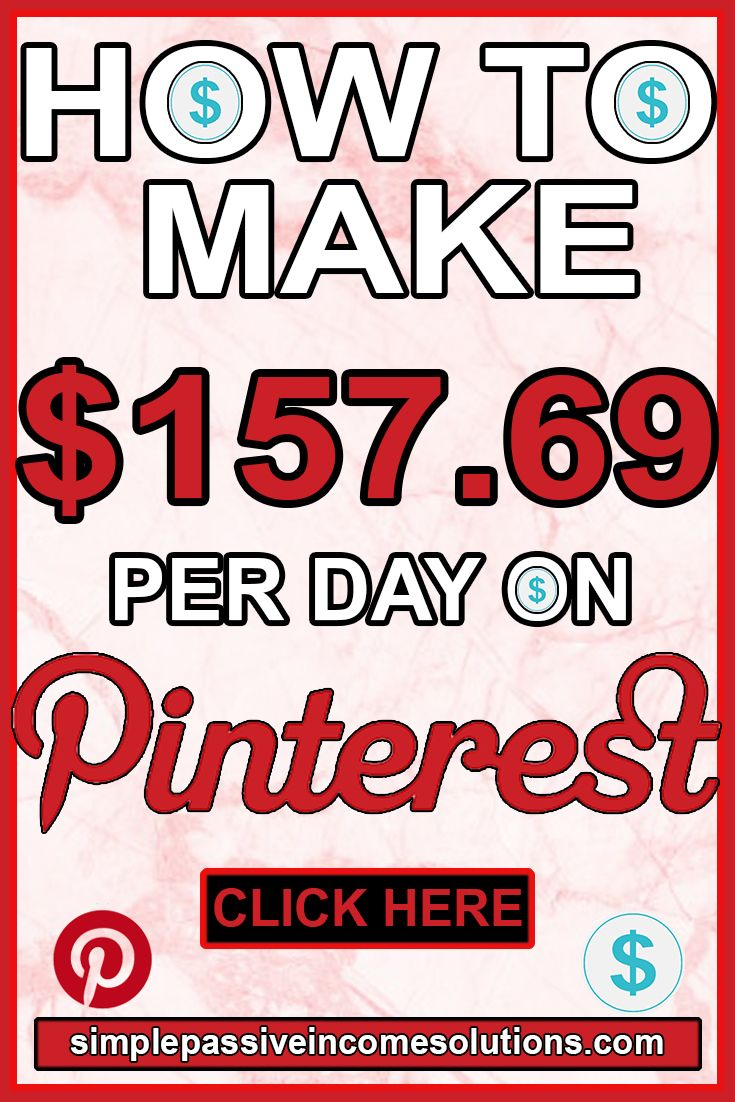 HOW TO MAKE MONEY ON PINTEREST $150+ Per Day ∣ HOW TO EARN EXTRA MONEY ON PINTEREST ∣ MONEY MAKING