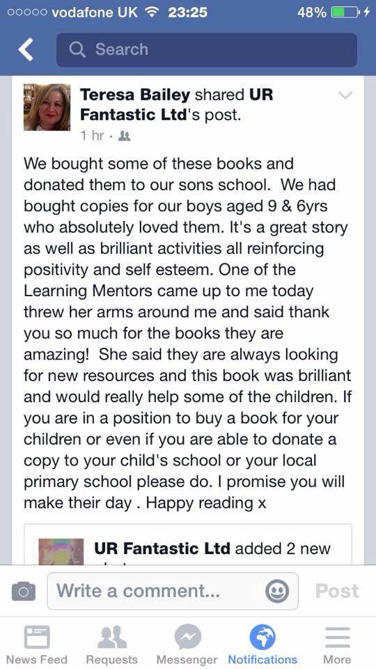Beautiful feedback from a happy Mum.
