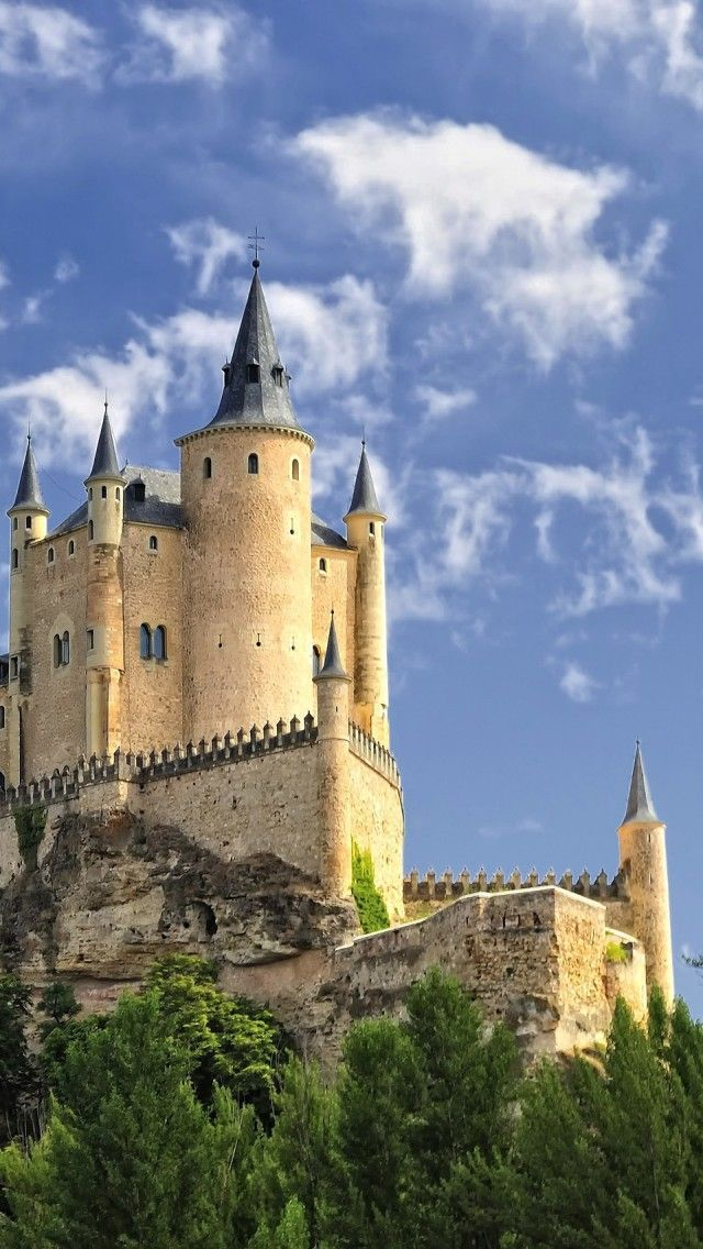 Alcazar of Segovia, Spain  Did you know  that the former Moorish castle (fortress) in the old city of Segovia is still used as a royal palace?