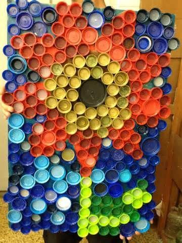 17 best images about bottle cap art on pinterest for Bottle cap mural tutorial