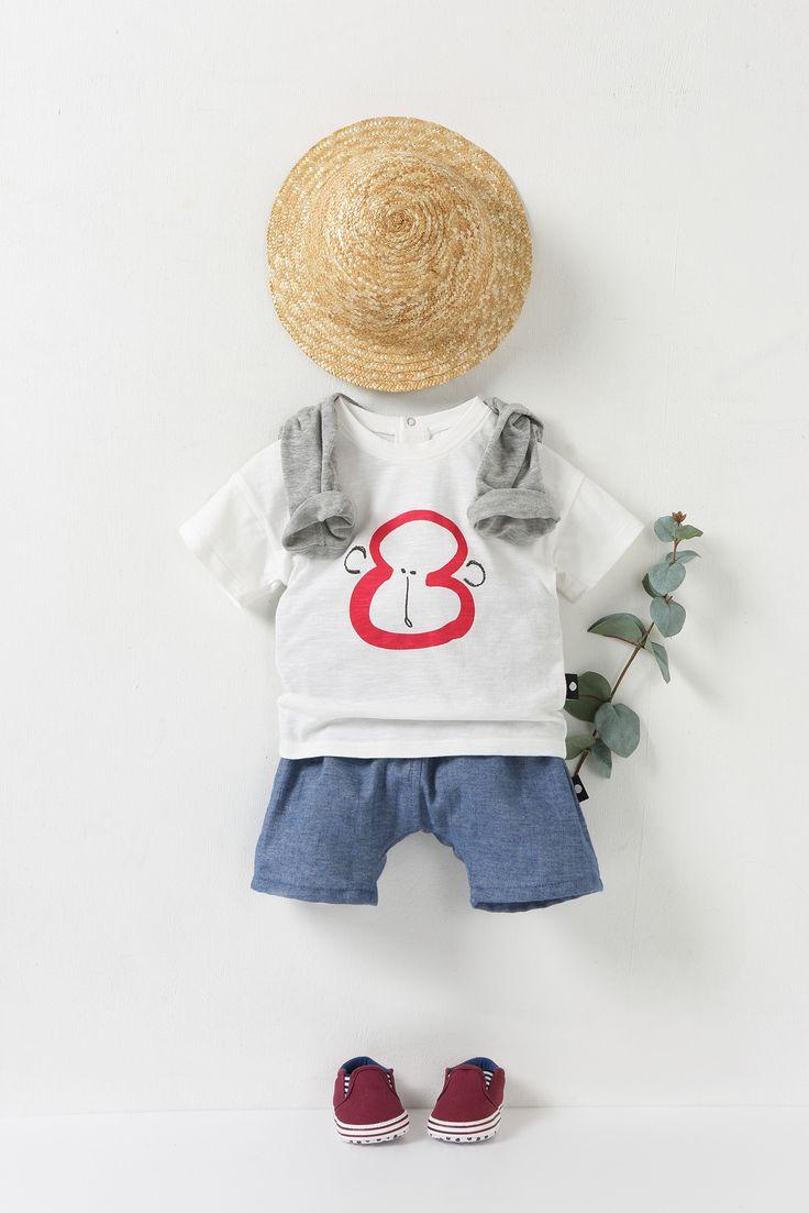 angelbdot 2016 summer look - monkey t-shirts