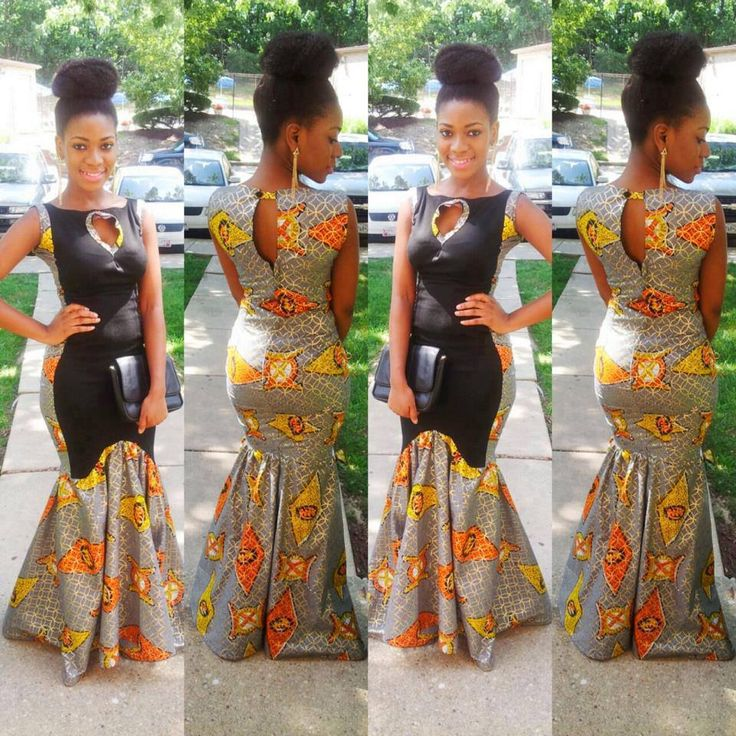 traditional ghanaian wedding gown | Just in time for the weekend ladies! It's ANKARA Season Part 2!