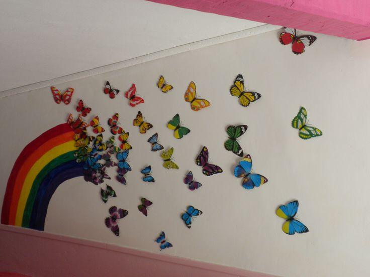 fresque murale chambre enfant