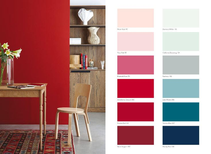 Plascon Paint Essential Collection: 108 Essential Colours -Bold Palette