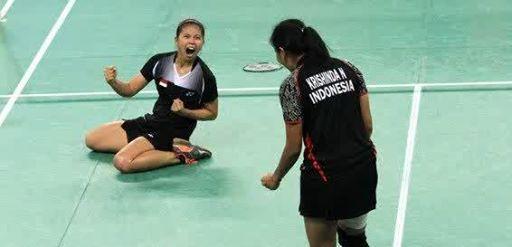 Lagu Indonesia Raya akhirnya berkumandang di Asian Games 2015, Incheon, Korea Selatan. Adalah pasangan ganda putri Greysia Polii/Nitya Krishinda Maheswari yang berhasil merebut emas setelah mengalahkan pasangan Jepang Ayaka Takahashi/Misaki Matsutomo dengan dua set langsung 21-15, 21-9. Selengkapnya di http://on-msn.com/1rsLYFP