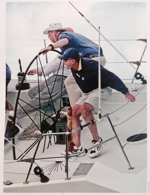 """#NorthSails #Tigers #Lowell #North #Terry #Kohler Una barca: la Two Tonner Agape. Quella con cui vinse una gara, la Canada Cup del 1978: l'occasione dove incontrò per la prima volta Lowell North. Forse allora non badò al fatto che Agape in greco significa """"amore fraterno"""". E fu questo che legò subito le due tigri fino a quando Lowell lasciò la presidenza della North #Sails all'amico Terry."""