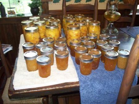 Peach - Habanero Jam Recipe