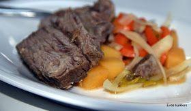 Evas kjøkken: Fersk kjøtt med sur-søt saus og suppe