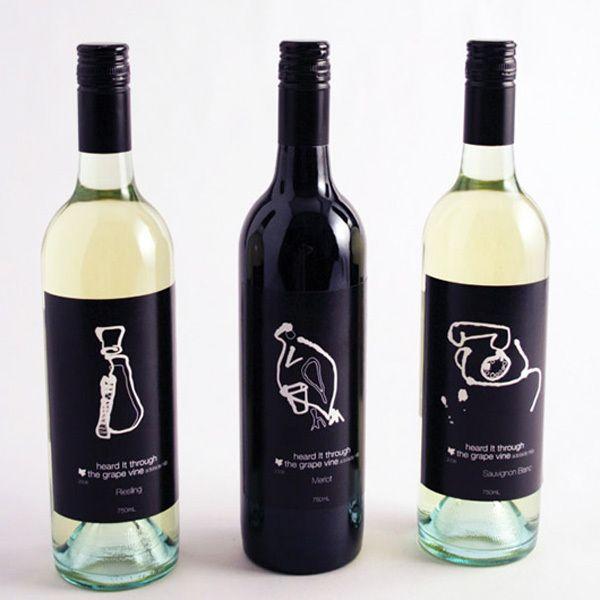 212 best Wine labels images on Pinterest Design packaging - wine label