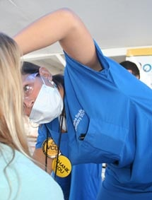 VCU School of Dentistry participates in Mission of Mercy (MOM) Projects throughout the Commonwealth.