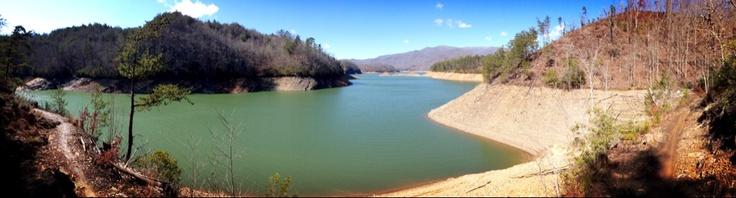 Tsali North Carolina...Mt biking trails...view from Left Loop