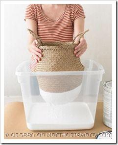 Come riciclare i cesti di vimini {Green.itudine del 6 ottobre 2011}