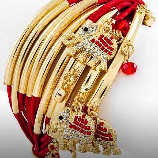 Elephant bangles